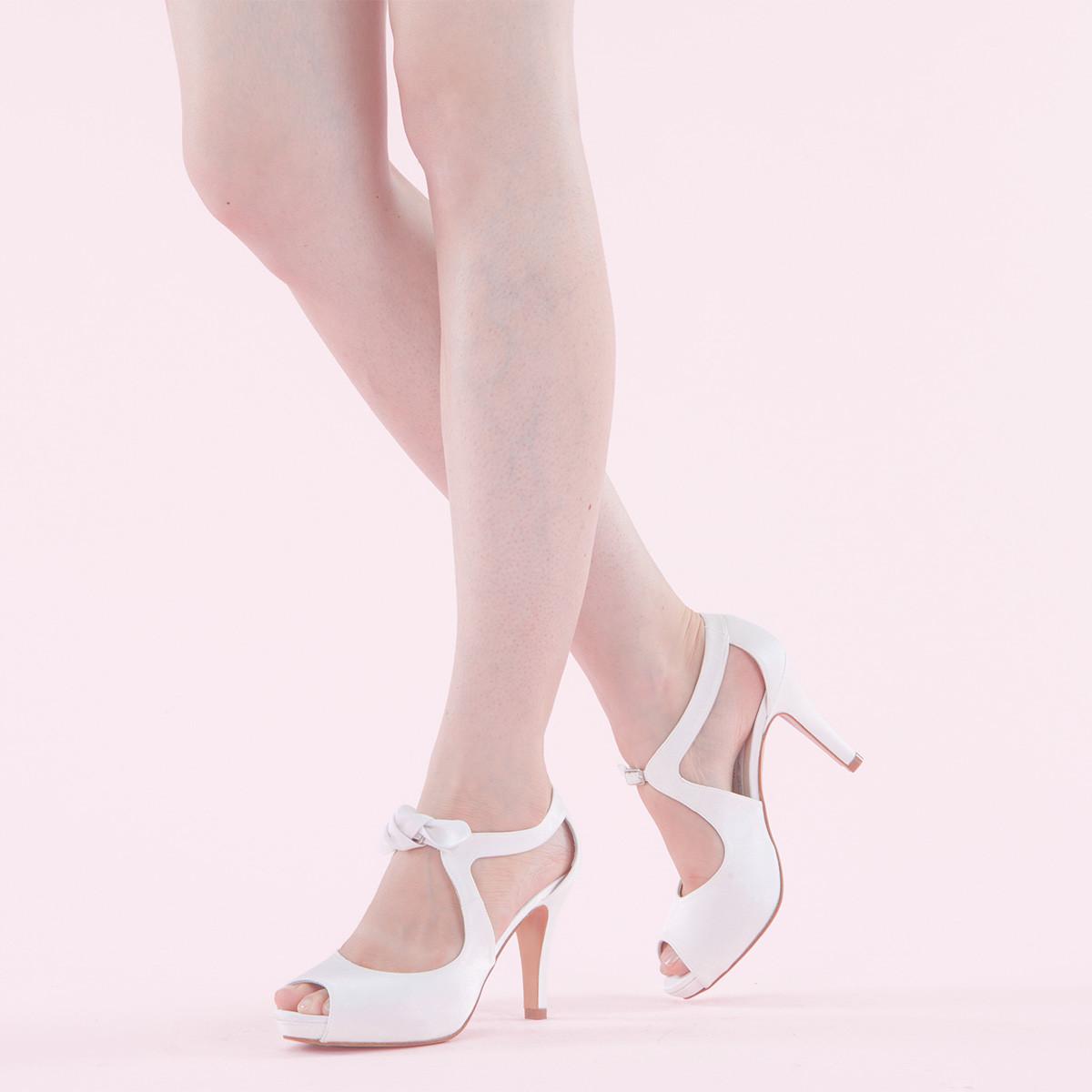 couleurs délicates nouveau style et luxe prix de liquidation chaussure mariage pied large