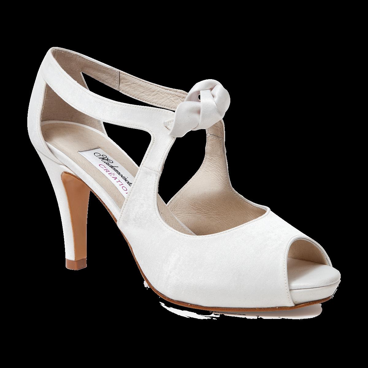 chaussures de mariée La Bastille - Mademoiselle Rose chaussures de ... 8eeb4ffa486