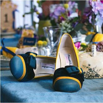 Haussmann noeud Paris jaune bleu